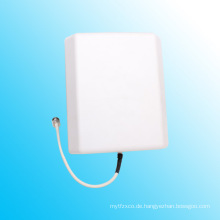 800-2500MHz / 698-2700MHz Indoor Panel Patch Antenne WiFi, China Lieferant