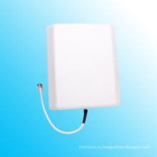 800-2500MHz / 698-2700MHz Внутренняя панель Патч-антенна WiFi, поставщик в Китае