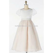 Naughty flor menina vestido de tul vestido de meninas 1016