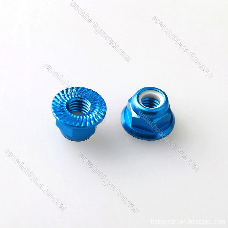 M5 Serrated Flange Lock Nuts