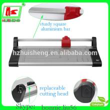 A3A4 cortador de papel de escritório rotativo manual guillotina cortador de papel