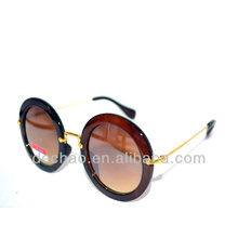 2014 retro design sunglasses for wholesale round shape