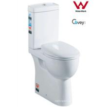 WC de duas peças com Ce Certificaton / Watermaket Aprovado (CVT8011)