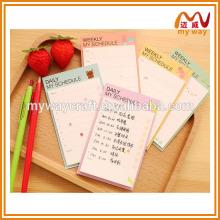 Feira semanal de exercícios semanais, papelaria criativa coreana, novos produtos no mercado da China