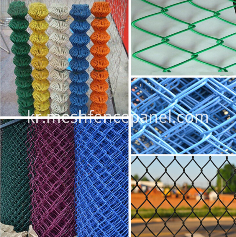 chain link fence details