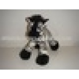 Plush stuffed toy finger puppet available in different animals design