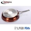 Imitate die casting titanium non-stick fry pan