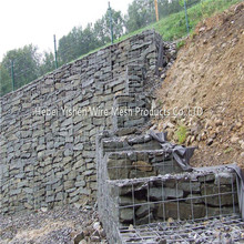 Galvanized gabion mesh  Box