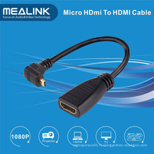 Câble HDMI à HDMI haute vitesse à 90 angles