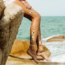 MOQ 500 Waterproof Temporary Custom Tattoo Sticker