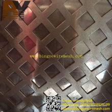 Malla metálica perforada de acero inoxidable