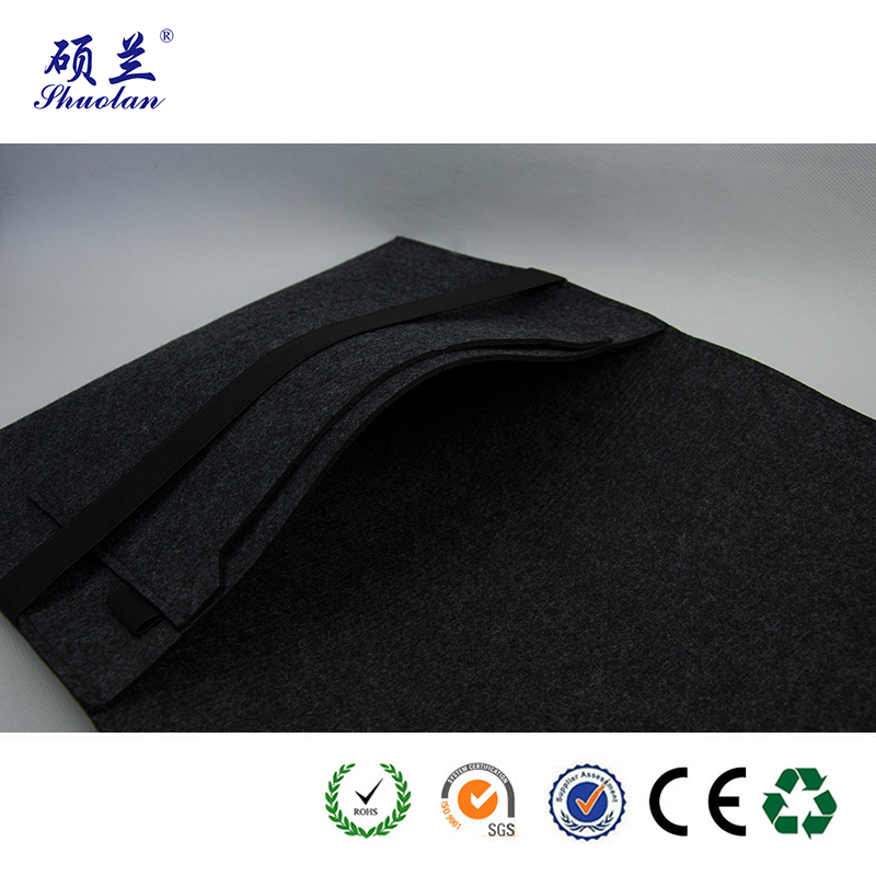 Good Quality Black Felt Bag
