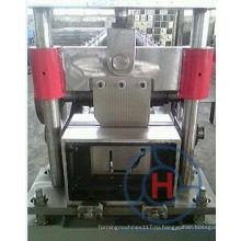 Качество полностью автоматический PLC контроля полукруглый водостоком машина