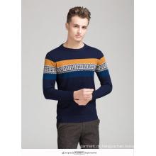 OEM Sweater Graphic Pattern 100% Baumwolle Herren Pullover