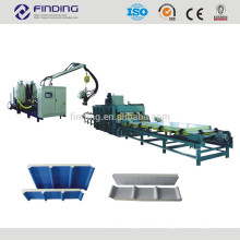 Discontinuous PU sandwich panel machine wall and roof panel roll forming machine line