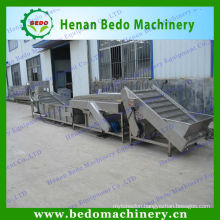 Industrial fruit vegetable washing machine, industrial vegetable fruit washing machine, fruit vegetable washer 008613253417552
