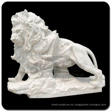 Estatua de piedra del león de alta calidad en ventaVSS-022