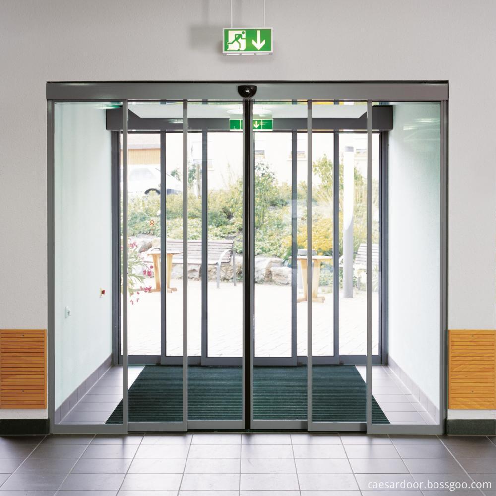 Automatic Sensor Glass Sliding DoorAutomatic Sliding Telescopic Door
