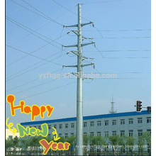 2015 Hot Saling Octagonal Electric Power Steel Pole