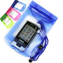 Günstige Werbe-Universal-Handy Wasserdichte Lanyard Bag (YKY7209)