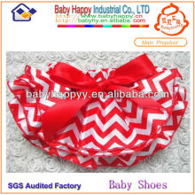 Best Sale High Quality satin chevron baby bloomer