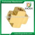 4 Way Brass Fitting