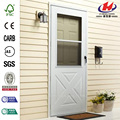 200 Series White Crossbuck Storm Door