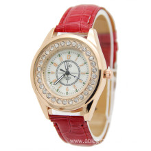 Promotion product item Leather  Quartz Wrist Watches