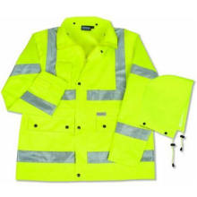 3m High Visibility Safety Parka with Pockets