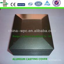 WPC post fundição /alumium de cap