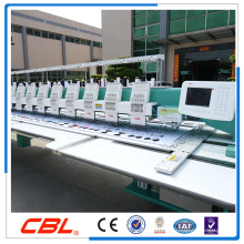 Exporte la máquina plana del bordado de la computadora de 12 cabezas para la venta