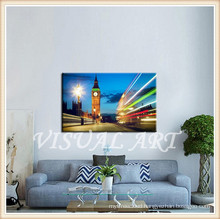 European Style Night Scene Modern Wall Art Paintings