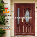 European style classic exterior metal door with glass