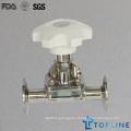 Válvula sanitaria del diafragma del acero inoxidable (nuevo diseño)
