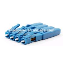 China suministro Lc upc conector rápido, Embedded Square fibra óptica rápida conector, conector con buen precio