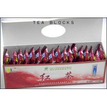 125g tijolo chinês e saudável blocos de chá preto