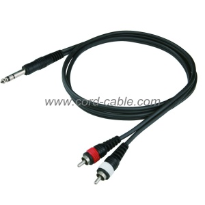 DR Series Dual Stereo Jack to RCA Cable