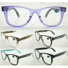 Double Colour Fashionable Eyewear for Unisex 2015 Reading Glasses (WRP504207)