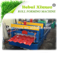 XN-828 Roofing Glasierte Fliese Billige Sonnenkollektoren China Roll Forming Machine Hersteller