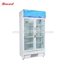 Refrigerador de exhibición comercial Supermercado equipo de refrigeración