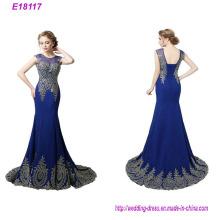 La última venta caliente Sexy Lady elegante vestido de noche largo