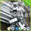 5M 6M 8M round steel pole Q235 street light bracket, LED street lighting pole