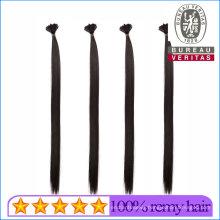 Top Quality 10A Grade 100% Human Virgin Hair Stick Flat Tip Hair Extension Remy Hair