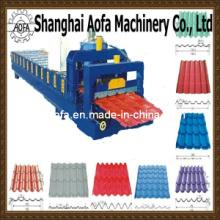 Glazed Tile Roof Sheet Roll Forming Machine (AF-G825)