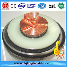 1x1000 مم 2 38/66 (72.5) kV CU / XLPE / LS / CWS / HDPE POWER CABLE