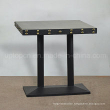 New Style Square Table Solid Wood Cafe Table (SP-RT491)