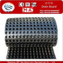 Le panneau de drain approuvé par CE / tuyau de vidange utilisé pour le drainage de sous-sol
