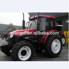Preço barato YTO trator de fazenda 90hp X904 mini preço do trator