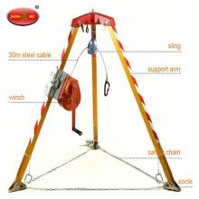 Feuerbekämpfungs-Rettungsgerät-Rettungs-Stativ mit Handwinde