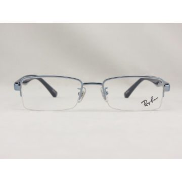 06a763b67b72 Men s   Women s Blue Semi Rimless Ray Ban Eyeglass Frame Rb6195 2507  51-18-135 - Bossgoo.com